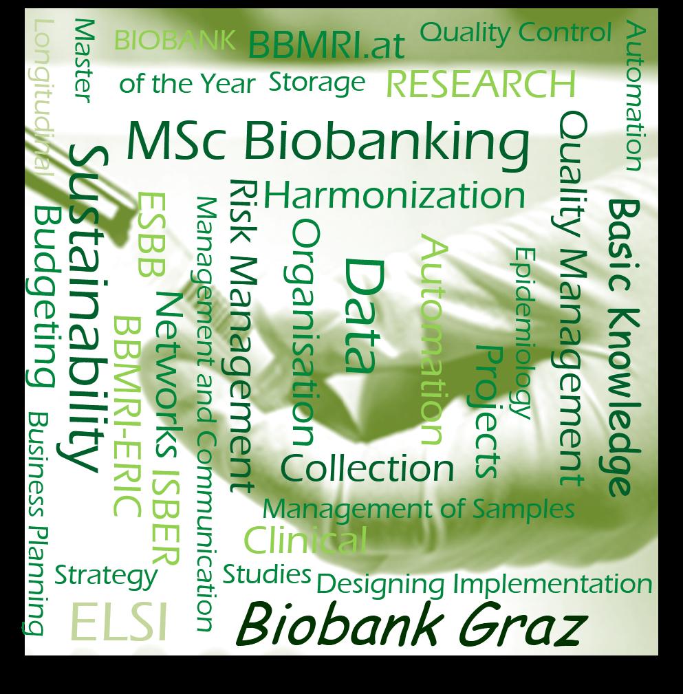 Masters programme biobanking, Medical University of Graz