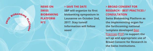 swiss biobanking platform newsletter n 2 bbmri eric making new