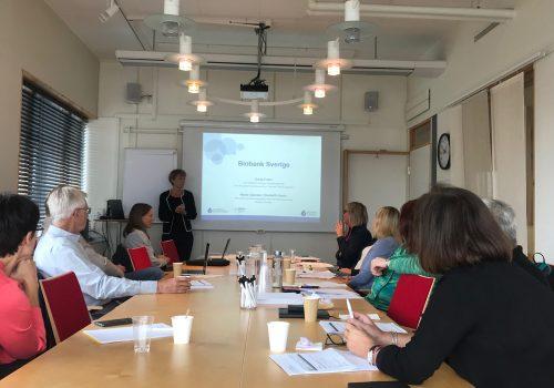 biobank Sweden, round table talks