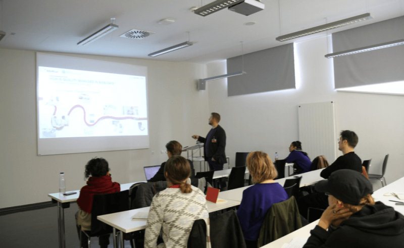Art & Science Collaboration – Presentation Given by Helmuth Haslacher on Quality Management